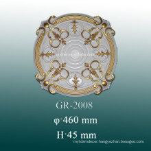 PU ceiling medallions for home and interior decoration