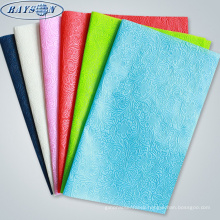 embossing non-woven fabric flower bouquet wrapping materials