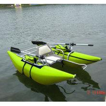 PVC 1 pessoa inflável pontão barco Fly Fishing