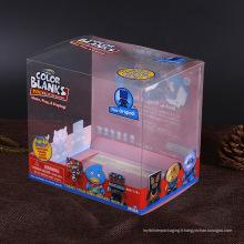 Boîte en plastique concurrentielle d'emballage de PVC / ANIMAL FAMILIER Chine Fabricant avec imprimée