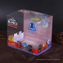 Конкурентоспособная ПВХ / ПЭТ пластиковая упаковочная коробка Китай Производитель с печатной