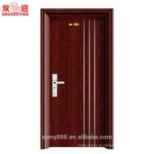 Preço de fábrica portas exteriores porta principal projeta produtos exteriores da porta de aço China