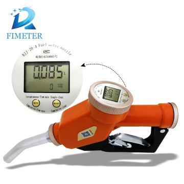 Diesel oil meter dispensing gun diesel fuel nozzle best price
