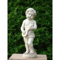 Statues de style européen en fibre de verre, anges