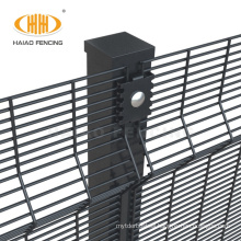Factory price durable clear vu anti climb 358 wire mesh prison security fence price malaysia