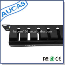 Taiwan imported 1u cable management system standard fit to 19 inch rack factory price