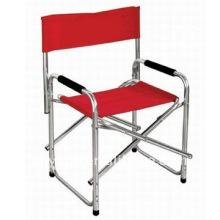 Cadeira de alumínio dobrável para diretor