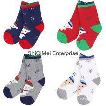 100% Cotton Knitted Wholesale Customized Kids Socks