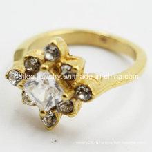 Литые кольца с камнями