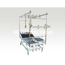 Cama de tração de ortopedia inclinada móvel