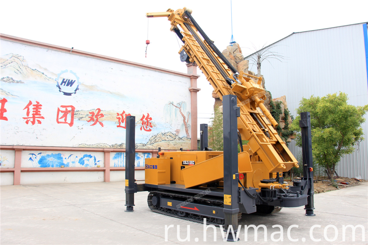 borehole water well drilling rig