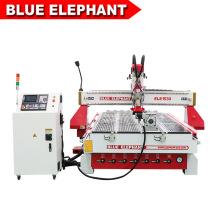Jinan Blue Elephant 1530 CNC Router Good Working Effort Multipurpose