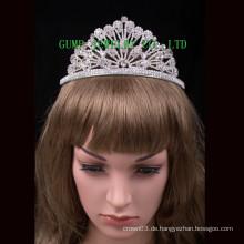 Rhinestone-Tiara-Kristall-elegante Krone