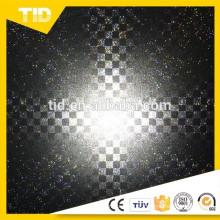Folha de PVC reflexiva para sapatos
