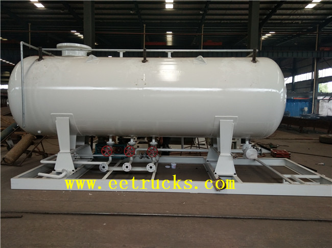 20 TON Skid Mounted LPG Filling Plants