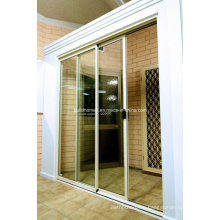 Supply Economic Prices Slim Aluminium Frame Sliding Doors
