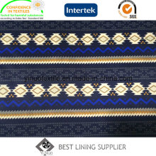 Classic Pattern 260t Twill Print Lining for Cloth Fabric