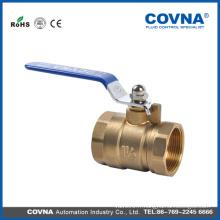 WOG 300 valve à bille en laiton femelle DN20 à 2PC