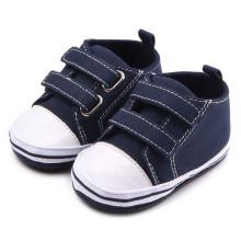 Cheap toddler boy high top sneaker stock girls baby canvas shoes