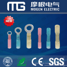 Red Insulated Nylon Water-prof Heat Shrink Button Terminal Connector With Various Color