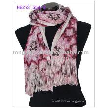 Вязание мода зима шарфы