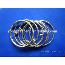 hot selling metal o ring and fashion hook and loop with cheap price