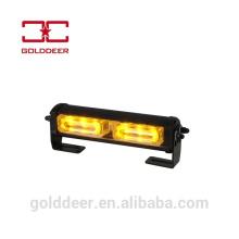 Amber Led Strobe Light 12V for Dash/ Deck/ Grille Mount