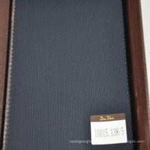 fashionable design suit fabric in 100% organic wool