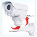 Камера PTZ диапазона пули иК 1080P AHD TVI CVI междугородная с сигналом 10X