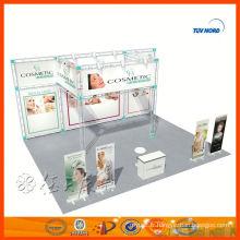 Conception de décrochage de stand double exposition personnalisée en Chine pour la vente et la location