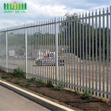 wholesale direct metal garden palisade fence