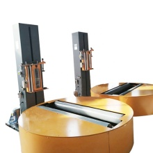 Top venda máquina de embalagem de rolo de papel de filme estirável