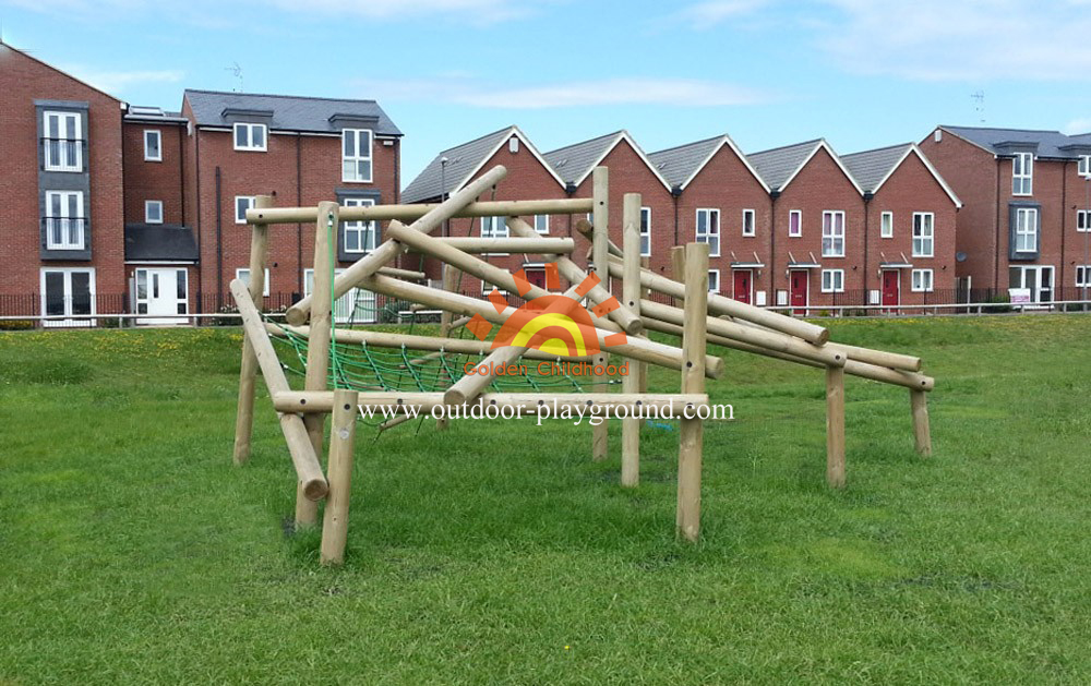 children's climbing playground for school