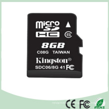 High Speed Mini SD Memory Card 8GB (SD-08)