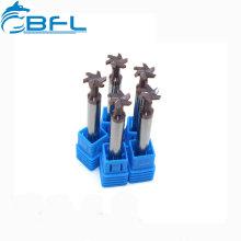 BFL Procesamiento CNC Carburo sólido Corte de fresas en T Ranuras para acero