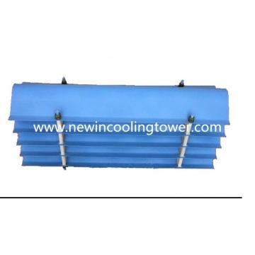Eliminador da deriva de água do PVC da torre refrigerando