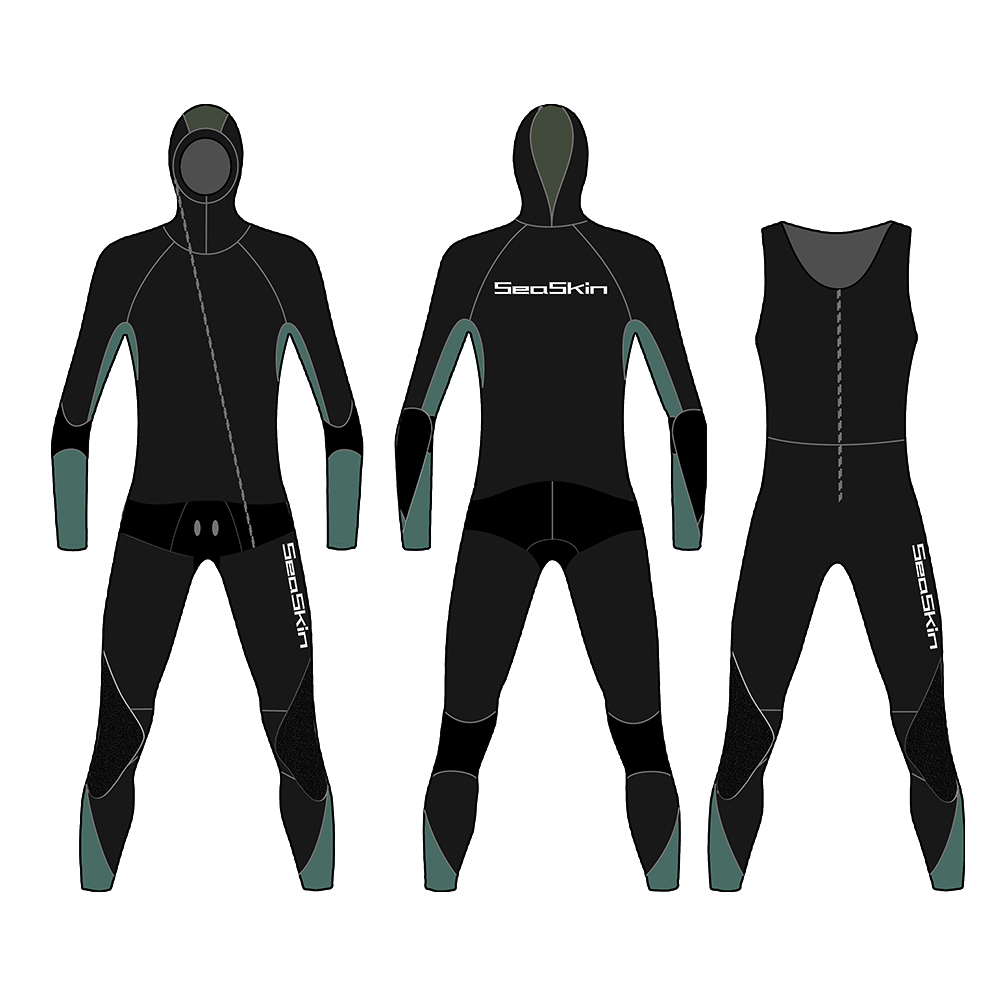 Seaskin Diving Wetsuit Men