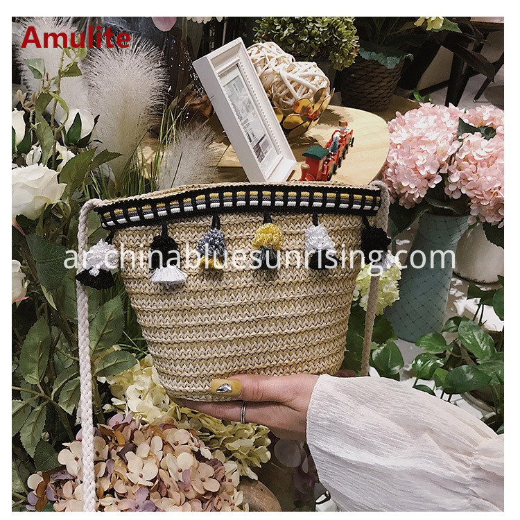 Messenger Rattan bag