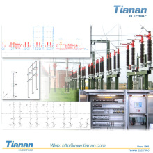 Sekundär-Schaltanlagen-Hochspannungs-Luft-Isolierte-Power-Verteilung