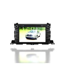 Windows CE reproductor de DVD de coche para 2015 Toyota Highlander (TS9656)
