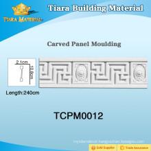 New design pu cornice crown moulding