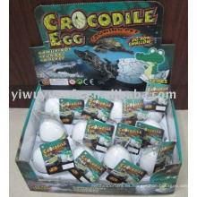 Juguete creciente del huevo del cocodrilo