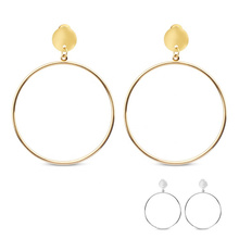Morden Fashion Individual Statement Stainless Steel Dangle Earring Women Jewelry Accessories