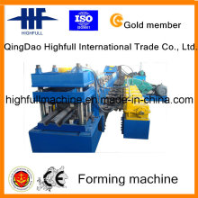 Galvanized Steel Highway Guardrail Roll Forming Machine