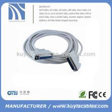 DB25 Pin DB25 Câble d'extension parallèle Câble d'extension d'imprimante parallèle Homme à femelle