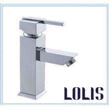 Durable cuadrado lavabo grifo (B0002-F)