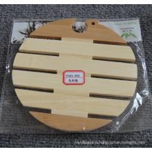 (BC-M1003) Natural Bamboo Bird Shape Heat Insulation Mat