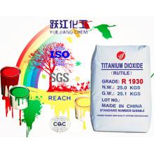 Rutilo Grado Dióxido de Titanio TiO2 Cloruro Proceso Tronox Cr828