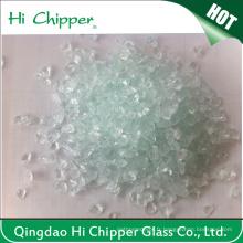 Décoration de vernis en verre concassé