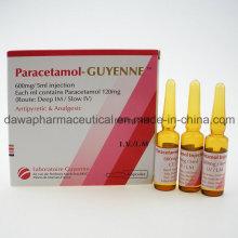 Antipyrétique et analgésique IV / IM Injection Paracetamol Injection